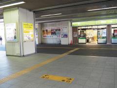 埼京線北戸田駅改札を出たら左(西口)へ