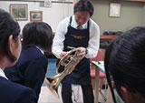 学校出張楽器診断